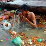BATH IN HOLY RIVER GANGA