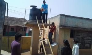 School water tank clean