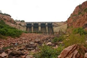 Navil theerth Dam Sandstone Saundatti Malaprabha RIVER BASIN